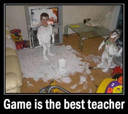 Game is the best teacher - Russian Alphabet