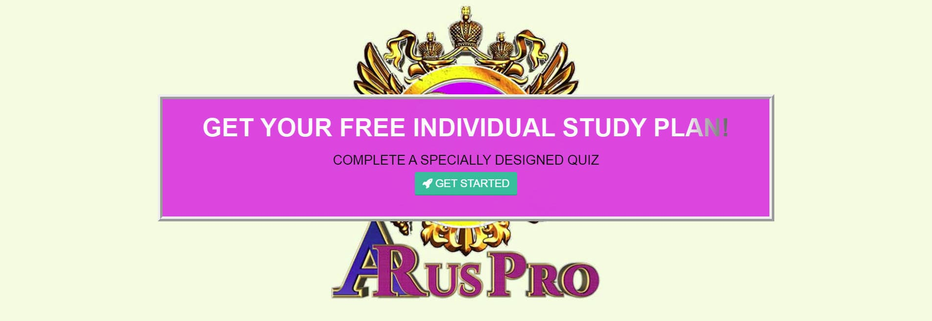 Get your free individual study plan