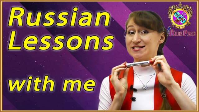 Russian lessons with professional teacher Anastasia web