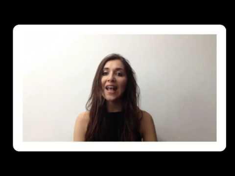 Lucy Italy Catania about Russian tutor Anastasia - Lessons with Anastasia - [Lingua Vita]